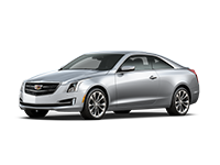 GM Fleet 2017 Cadillac ATS compact sport coupe.