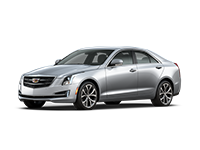 GM Fleet 2017 Cadillac ATS compact sport sedan.