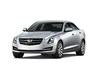 GM Fleet 2018 Cadillac ATS compact sport sedan.