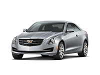 GM Fleet 2018 Cadillac ATS compact sport coupe.