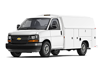 GM Fleet 2017 Chevrolet Express 3500 Cutaway van.