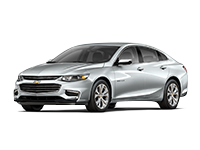 GM Fleet 2017 Chevrolet Malibu mid-size sedan.
