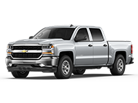 GM Fleet 2017 Chevrolet Silverado 1500 pickup truck.