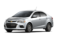 GM Fleet 2017 Chevrolet Sonic small car.