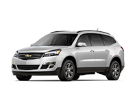 GM Fleet 2017 Chevrolet Traverse mid-size SUV.