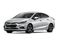 GM Fleet 2017 Chevrolet Cruze compact car.