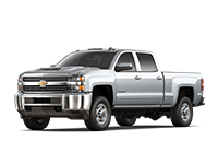 GM Fleet 2018 Chevrolet Silverado 2500HD heavy-duty pickup truck.