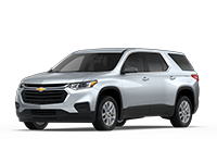 GM Fleet 2018 Chevrolet Traverse mid-size SUV.