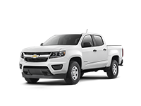 GM Fleet 2018 Chevrolet Colorado pickup truck.