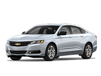 GM Fleet 2018 Chevrolet Impala full-size sedan.
