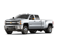 GM Fleet 2018 Chevrolet Silverado 3500HD heavy-duty pickup truck.