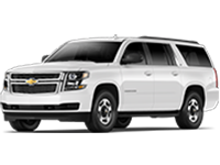 GM Fleet 2018 Chevrolet Suburban large SUV.