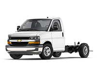 GM Fleet 2018 Chevrolet Express Cutaway van.