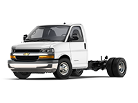 GM Fleet 2018 Chevrolet Express 4500 Cutaway van.
