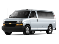 GM Fleet 2019 Chevrolet Express Passenger Van