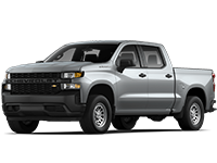 GM Fleet 2021 Chevrolet Commercial Silverado 1500 HD