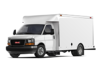 GM Fleet 2017 GMC Savana 4500 Cutaway van.