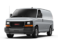 GM Fleet 2017 GMC Savana Cargo van.