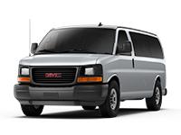 GM Fleet 2017 GMC Savana Passenger van.