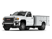 GM Fleet 2017 GMC Sierra 3500HD Chassis Cab truck.
