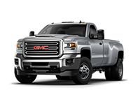 GM Fleet 2018 GMC Sierra 3500HD heavy-duty pickup truck.
