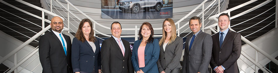 View of the GM Fleet Sales executive team.