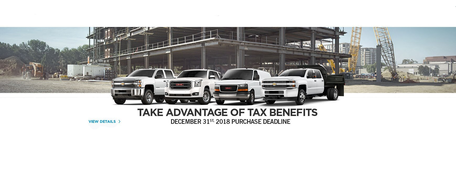 Deduct up to 100% of purchase price of eligible GM Fleet vehicles.