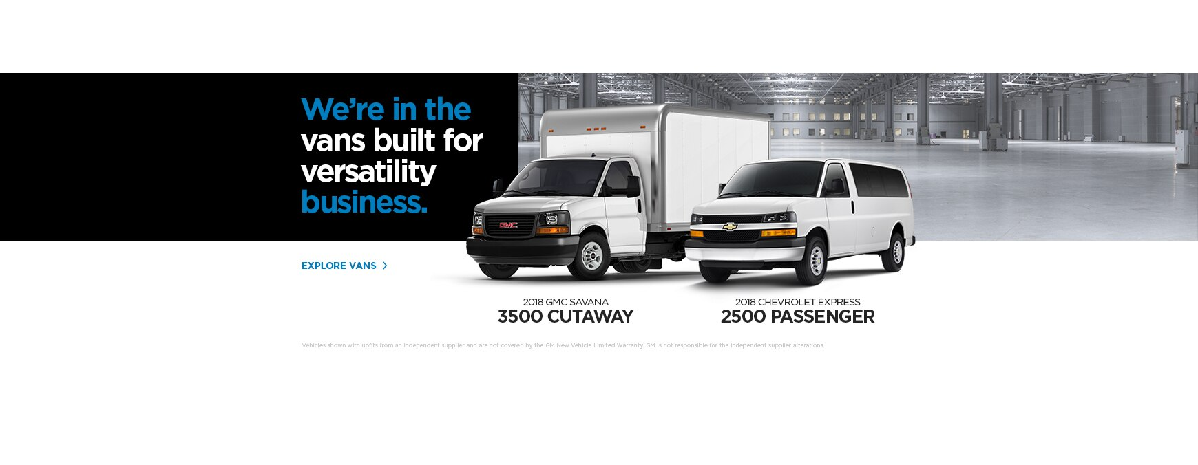 Business commercial vehicles gm fleet canada reheart Images