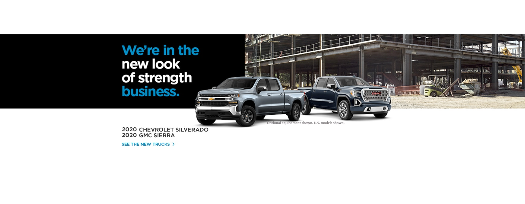 The all-new 2020 Chevrolet Silverado and GMC Sierra.