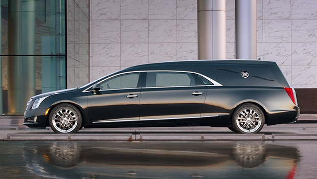 The 2017 Cadillac XTS Coachbuilder luxury hearse.