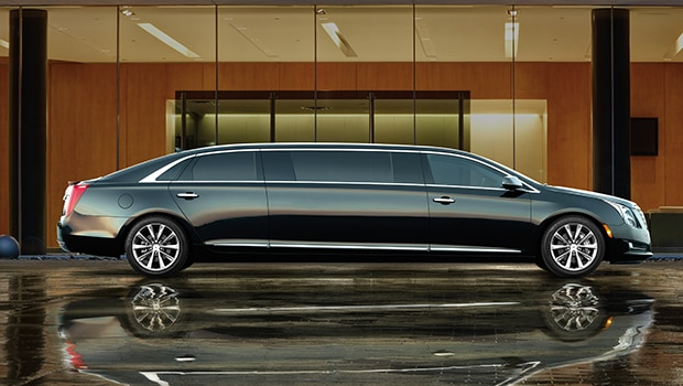 The 2017 Cadillac XTS Coachbuilder luxury limousine.