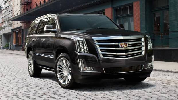 The 2017 Cadillac Escalade luxury SUV.