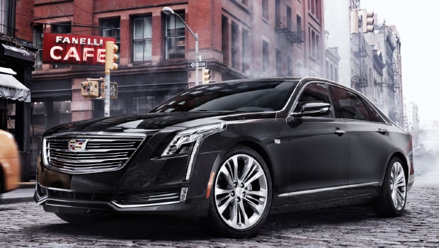 The 2017 Cadillac CT6 luxury sedan.