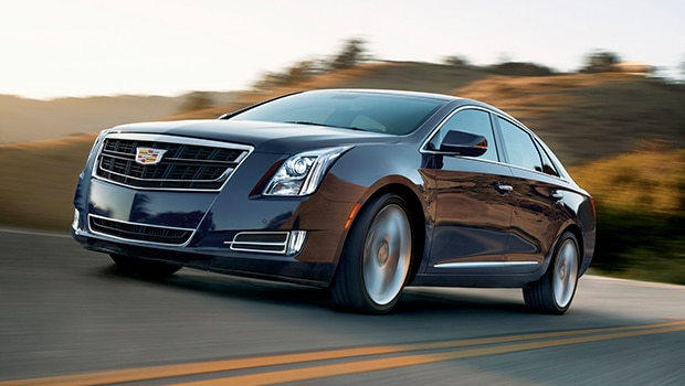 The 2017 Cadillac XTS Livery luxury sedan.