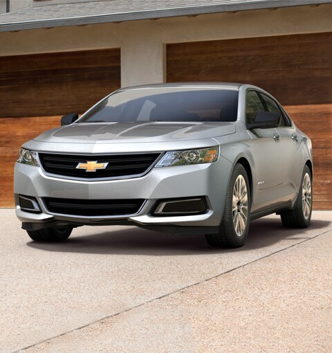 The 2017 Chevrolet Impala full-size car.