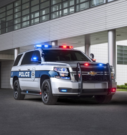 The 2017 Chevrolet Tahoe Police Pursuit Vehicle (PPV).