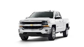 Exterior view of the 2017 Chevrolet Silverado 1500 pickup truck.