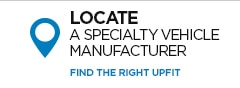 Click image to locate a GM Fleet Specialty Vehicle Manufacturer.