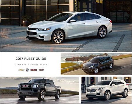2017 Fleet Guide, General Motors Fleet.