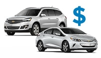Chevrolet Cars with GM Fleet Incentive Programs.