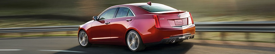 The 2017 Cadillac ATS luxury sport sedan.