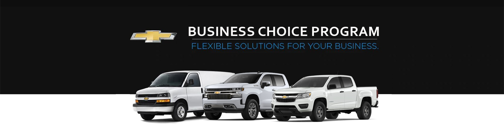 Chevrolet Business Choice Offers.