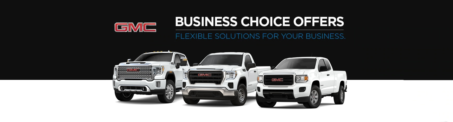 GMC Business Choice Offers.